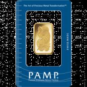 Zlatý slitek PAMP Fortuna 20 gramů