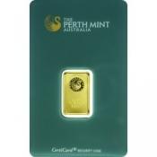 Zlatý slitek Perth Mint 5 gramů