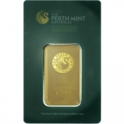 Zlatý slitek Perth Mint 1 Oz