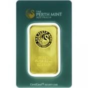 Zlatý slitek Perth Mint 50 gramů