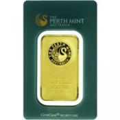 Zlatý slitek Perth Mint 100 gramů