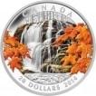 Stříbrná mince Podzimní vodopád 1 Oz
