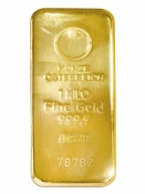 Zlatý slitek Münze Östereich 1000 gramů
