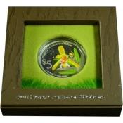 Stříbrná mince Orchidej - Cymbidium Finlaysonianum