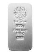 Stříbrný slitek Argor Heraeus 500 gramů