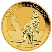 Zlatá mince Australian Kangaroo Gold Bullion 1 Oz 2016