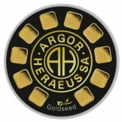 Zlaté slitky Argor Heraeus Goldseed 10 x 1 gram