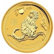 Zlatá mince Rok opice, Lunární serie II. 1 Oz