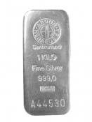 Stříbrný slitek Argor Heraeus 1000 gramů