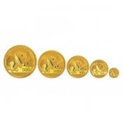Zlaté mince serie Panda 57 gramů 2016