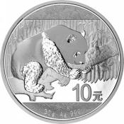 Stříbrná mince Panda 30 gramů 2016
