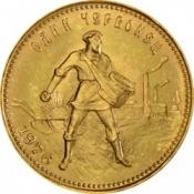 Zlatá mince Červoněc 1/4 Oz