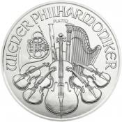 Platinová mince Philharmoniker 1 Oz 2016