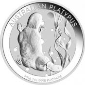 Platinová mince Ptakopysk 1 Oz