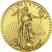 Zlatá mince American Eagle 1/10 Oz 2017
