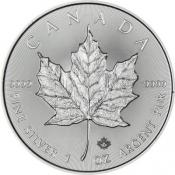 Stříbrná mince Maple Leaf 1 Oz 2017