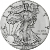 Stříbrná mince American Eagle 1 Oz 2017