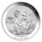 Stříbrná mince Koala 1 Oz 2017
