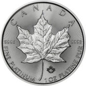 Maple Leaf 1 Oz Platina 2017