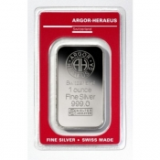 Stříbrný slitek Argor Heraeus 1 Oz