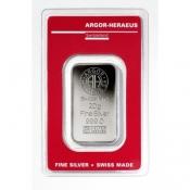 Stříbrný slitek Argor Heraeus 20 gramů