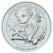 Stříbrná mince Koala 1000 gramů 2018