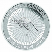 Stříbrná mince Kangaroo 1 Oz 2017