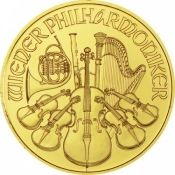Zlatá mince Philharmoniker 1/10 Oz