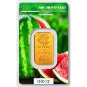 Zlatý slitek Argor Heraeus 10 gramů FN léto 2018