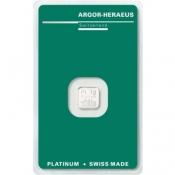 Platinový slitek Argor Heraeus 1 gramů