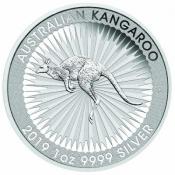 Stříbrná mince Kangaroo 1 Oz 2019