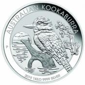 Stříbrná mince Kookaburra 1000 gramů 2019