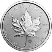 Stříbrná mince Maple Leaf 1 Oz 2019