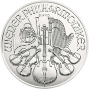 Platinová mince Philharmoniker 1 Oz 2018