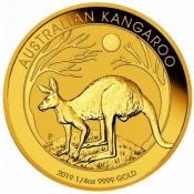 Zlatá mince Australian Kangaroo Gold Bullion 1/4 Oz 2019