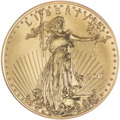 Zlatá mince American Eagle 1/4 Oz 2019