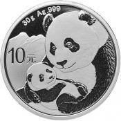 Stříbrná mince Panda 30 g 2019