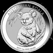 Stříbrná mince Koala 1 Oz 2019
