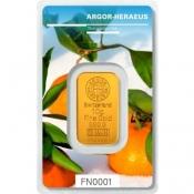 Zlatý slitek Argor Heraeus 10 gramů FN II zima 2018