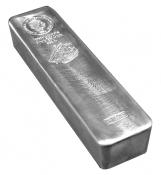 Stříbrná mince ve slitkové formě 5 kg