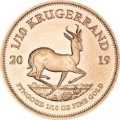 Zlatá mince Krugerrand 1/10 Oz 2019