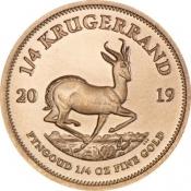 Zlatá mince Krugerrand 1/4 Oz 2019