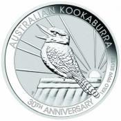 Stříbrná mince Kookaburra 1000 gramů 2020