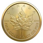 Zlatá mince Maple Leaf 1/2 Oz 2020