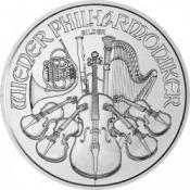 Stříbrná mince Wiener Philharmoniker 1 Oz - různé ročníky