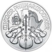 Stříbrná mince Philharmoniker 1 Oz 2020