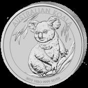 Stříbrná mince Koala 1000 gramů