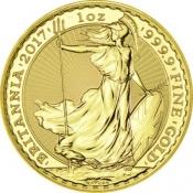 Zlatá mince Britania 1 Oz