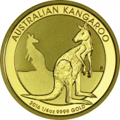 Zlatá mince Kangaroo/Nugget 1/4 oz