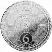 Stříbrná mince Chronos 1 oz 2020
